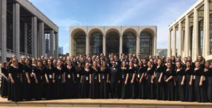 THS Choir at Lincoln Center
